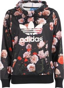 Adidas Rose Logo W hoodie black