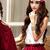 A-line High Neck Lace Chiffon Dresses : KissChic.com