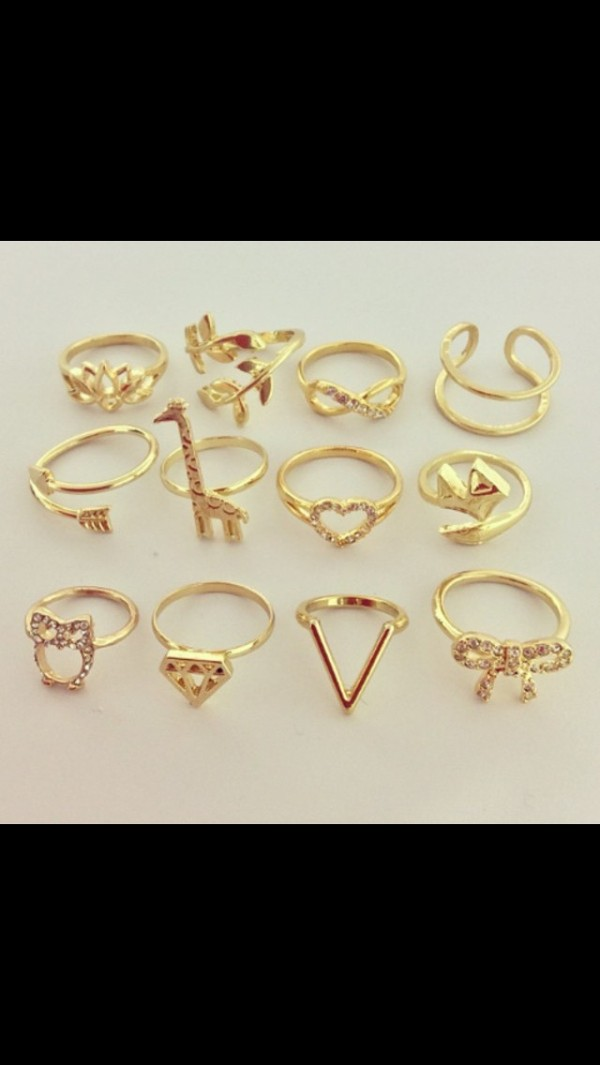 jewels gold gold ring gold jewelry infinity ring heart jewelry vintage arrow bow ring v shape ring cute