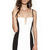 Black/White Top Deck Stadium Bustier : Buy Designer Dresses Online at Nookie