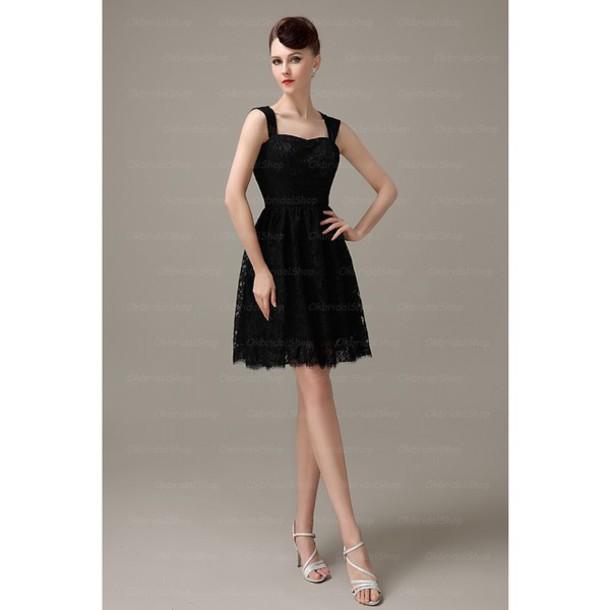 dress short little black dress