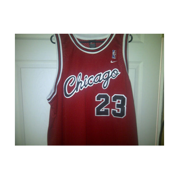 Michael Jordan #23 Chicago Bulls Nike Throwback Jersey XXL - Polyvore