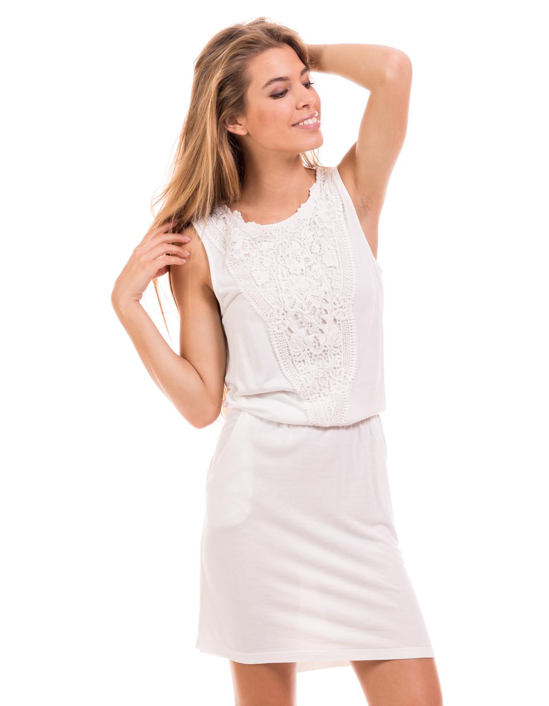 Vestido con encaje Lacey de Vila Clothes