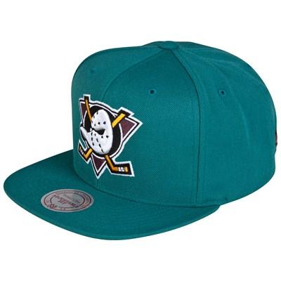 Casquette verte hockey Ducks Of Anaheim portée par Eddy   shozap