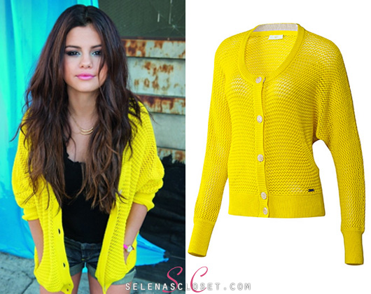 In the photoshoot for her 2013 Adidas Neo Spring... - Selena Gomez's Closet