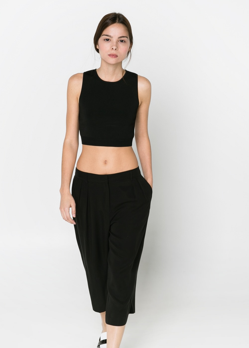 Cropped top -  T-shirts and tops - Women - MANGO