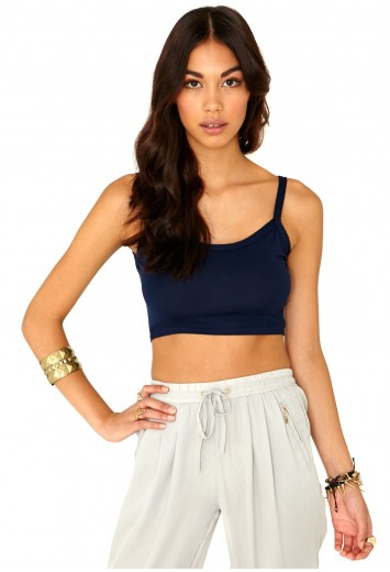 Lorena Strappy Crop Top - Tops - Crop Tops - Missguided