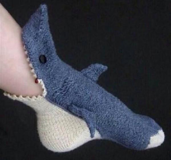 shoes shark socks shark socks