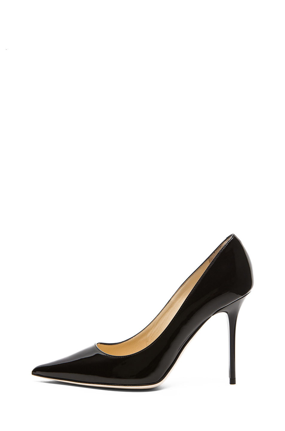 Jimmy Choo Abel Patent Leather Pumps in Black