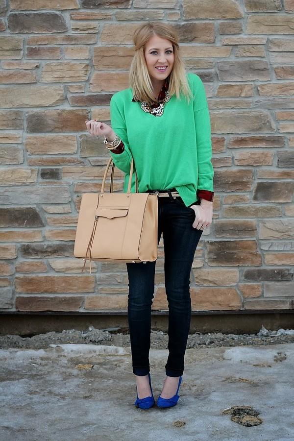 fashion flirtation t-shirt sweater belt jeans bag jewels shoes