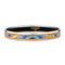 Hermès narrow enamel bracelet