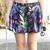 Tropical Weed Leaf Print Skirt – LittleByLittle