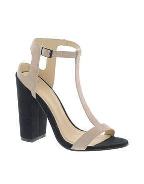 ASOS   ASOS HEARTBEAT Heeled Sandals at ASOS