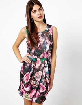 A Wear | A Wear Digital Flower Tulip Dress at ASOS