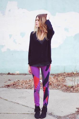 love blair pants shoes tank top sweater