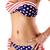 Divided Type Design Lady Style Padding Bra and Panty Women's Swimwear : KissChic.com