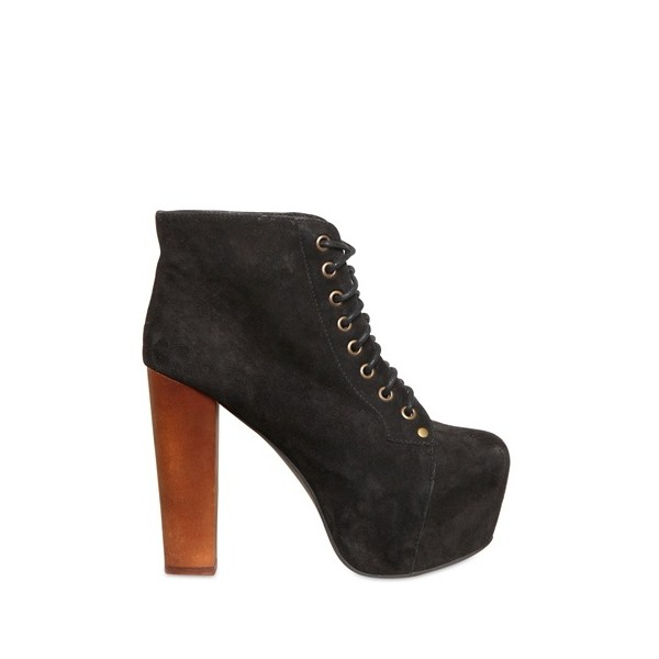 Jeffrey Campbell 120mm Lita Suede Boots - Polyvore