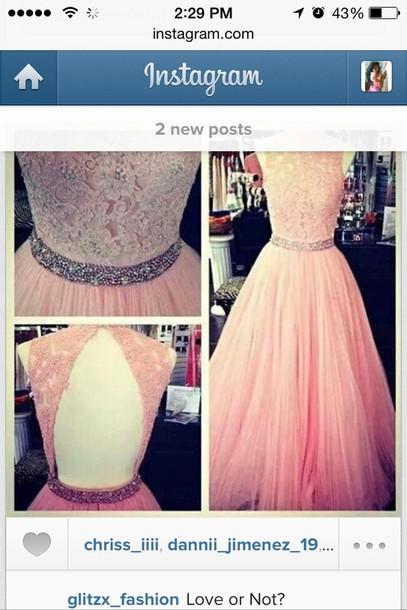 dress open back beautiful beautiful dress pink fun style pretty dress formal classy prom dress pink dress