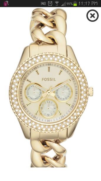 jewels fossil watch