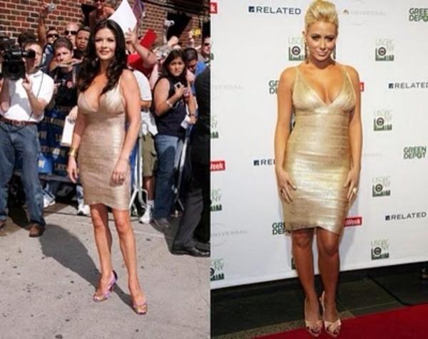 dress gold dress bandage dress herve leger designer dress sexy party dresses