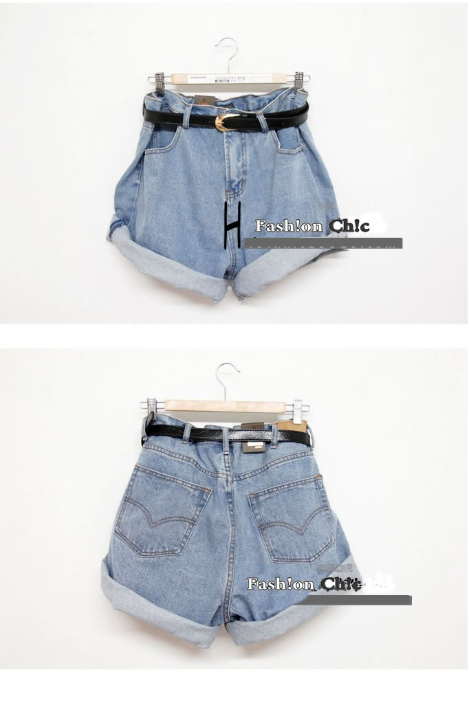 Celebstyle High Waisted Denim Shorts | eBay