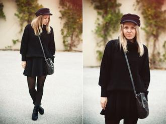 bag shoes sweater elenita hat skirt