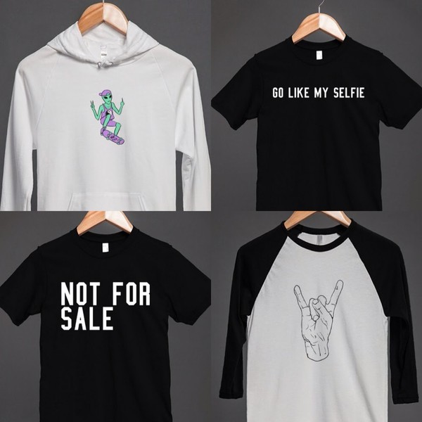 skater band t-shirt alien alien hoodie baseball tee selfie selfie top rock rock and roses rock rock band punk punk grunge grunge crop top not for sale skreened homemade vintage handmade colorful bracelets handmade outfit sparkly top soft grunge sorry i just wanted to post rad youtuber weird cool