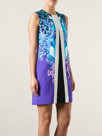 Peter Pilotto Graphic Print Dress - Smets - Farfetch.com