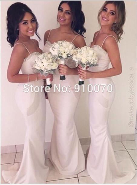 dress bridesmaid dress long bridesmaid dress cheap bridesmaid dress white dress to wedding wedding party dress
