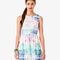 Watercolor sky fit & flare dress | forever21 - 2034779316