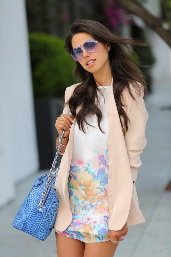 dress floral dress floral dress mini dress white dress white print dress jacket printed dress summer dress