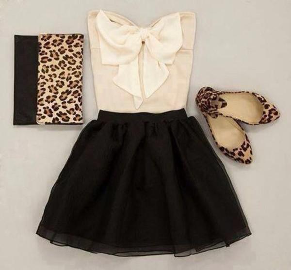 shirt skirt tank top