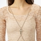 Cross body chain in  collections cross your heart at nasty gal