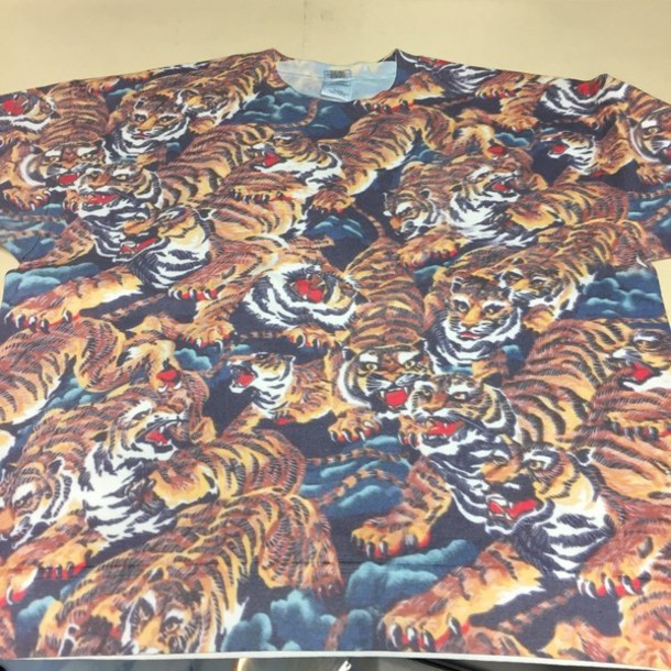 sweater the interview tiger print tiger tiger sweater allover print