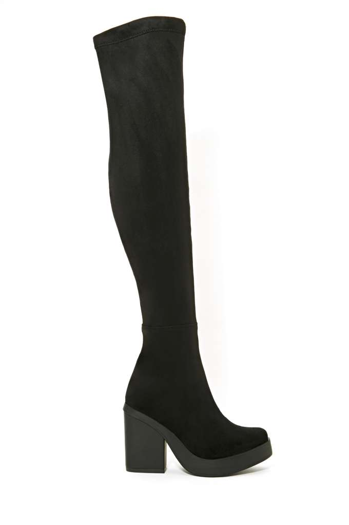 Miista Emi Thigh High Boot in  What's New Shoes at Nasty Gal