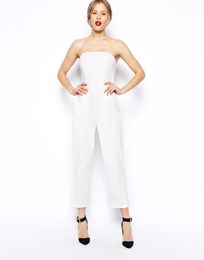 ASOS | ASOS Jumpsuit with Clean Bandeau at ASOS