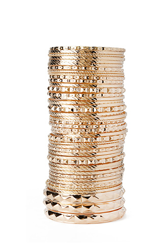 Over the Top Bangle Set | FOREVER21 - 1000087634
