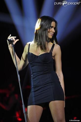 dress shy'm black dress