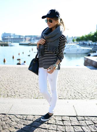 mariannan top jeans scarf bag