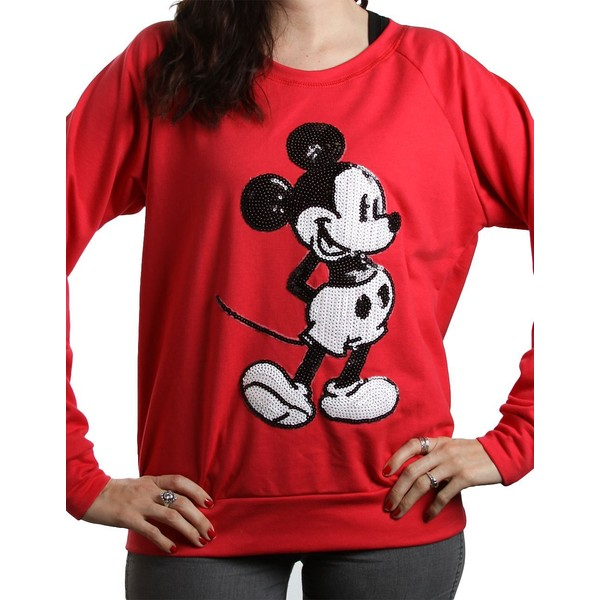 AWAKE Mickey Mouse Long-Sleeve Top - Polyvore