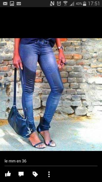 jeans bleu