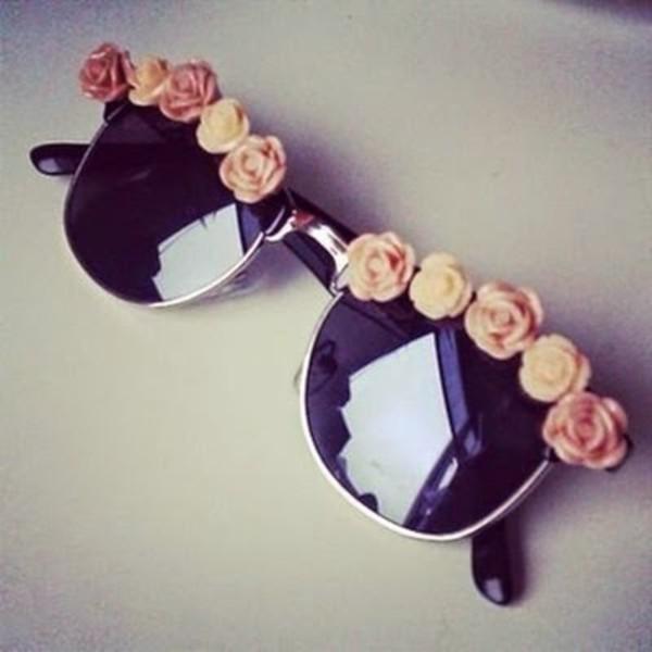 sunglasses vintage roses accessories