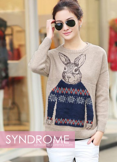 SYNDROME | Bunny Pullover Sweater