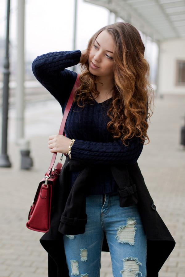 kolorowa dusza coat sweater bag pants dress jewels shoes