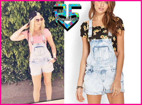 romper overalls denim clothes