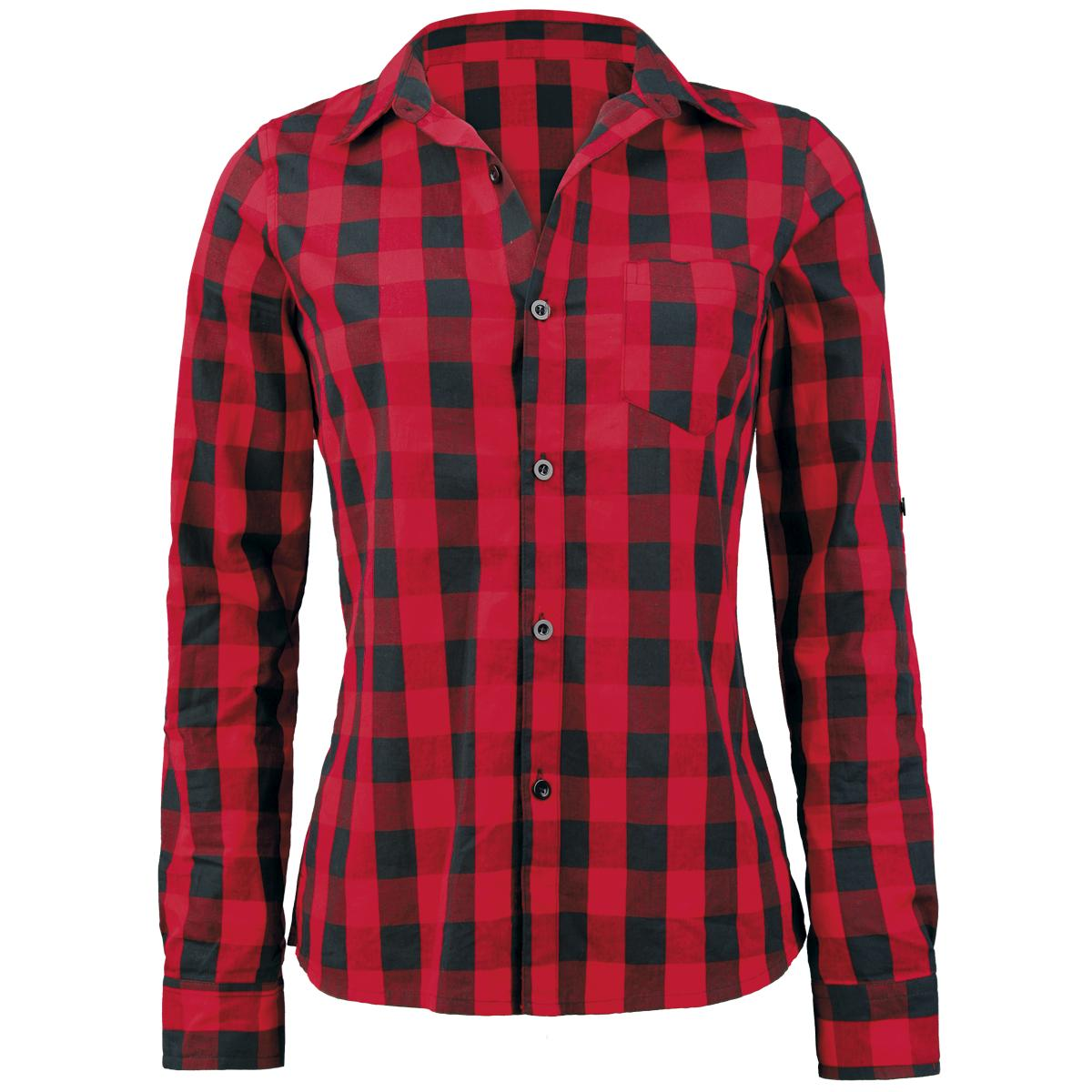 Checkered - Chemisier Femme par Forplay - Référence de l'Article: 227036 - à partir de 26,99 € - EMP::: LE MAILORDER ROCK & METAL ::: Le Merchandising & tellement plus encore...
