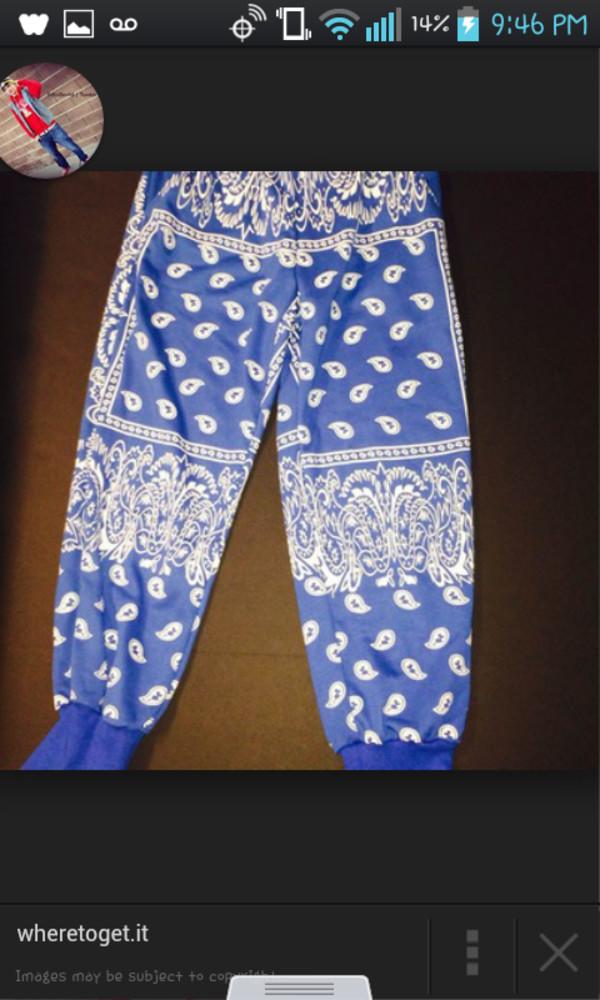 pants bandanna