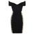 Black & Lace off the Shoulder Bandage Dress | Fashion Belleza | Swimwear - Apparel - Upscale Attire