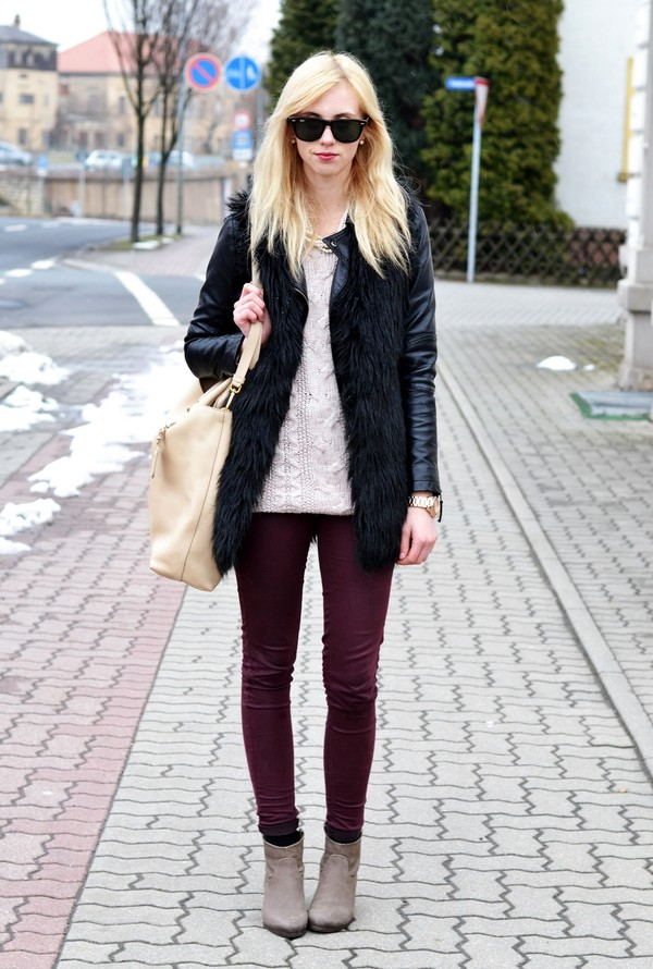 vogue haus sweater jacket shoes bag jewels sunglasses