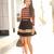 Soft Stripes :: Silk merlot & Sand lines : Wendy's Lookbook